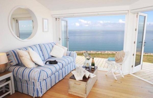 salon de una casa de playa