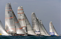 America's Cup sailing