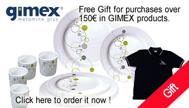 Gimex melamine tableware
