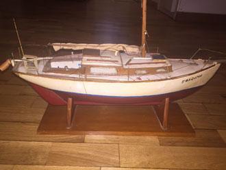 restauración velero