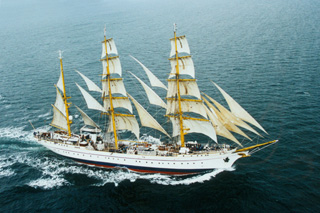 Formation navire Gorch Fock