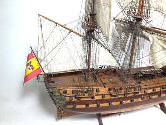 Maqueta Galeón Español