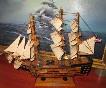 Galeon HMS victory de decoracion marinera