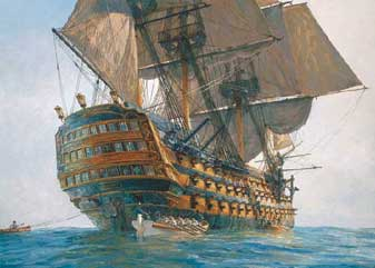 hms victory maqueta de barco