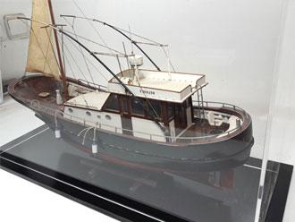 Maqueta barco de pesca