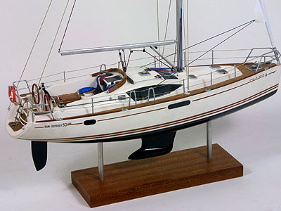 Sun Oddysey 50 DS - maquette navale
