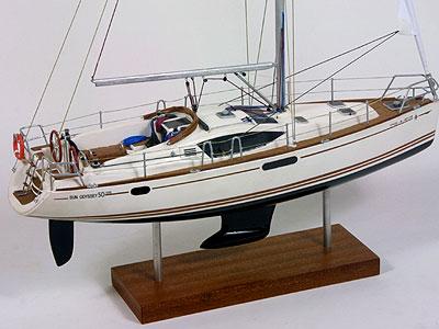 Sun Oddysey 50 DS - maqueta naval