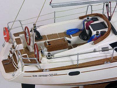 Sun Odyssey 50 DS | Maqueta naval